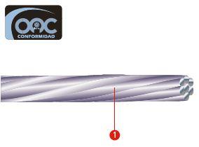 cable de aluminio
