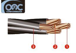 cable preensamblado de cobre